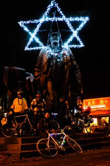 Holiday Lenin with Hub and Bespokers